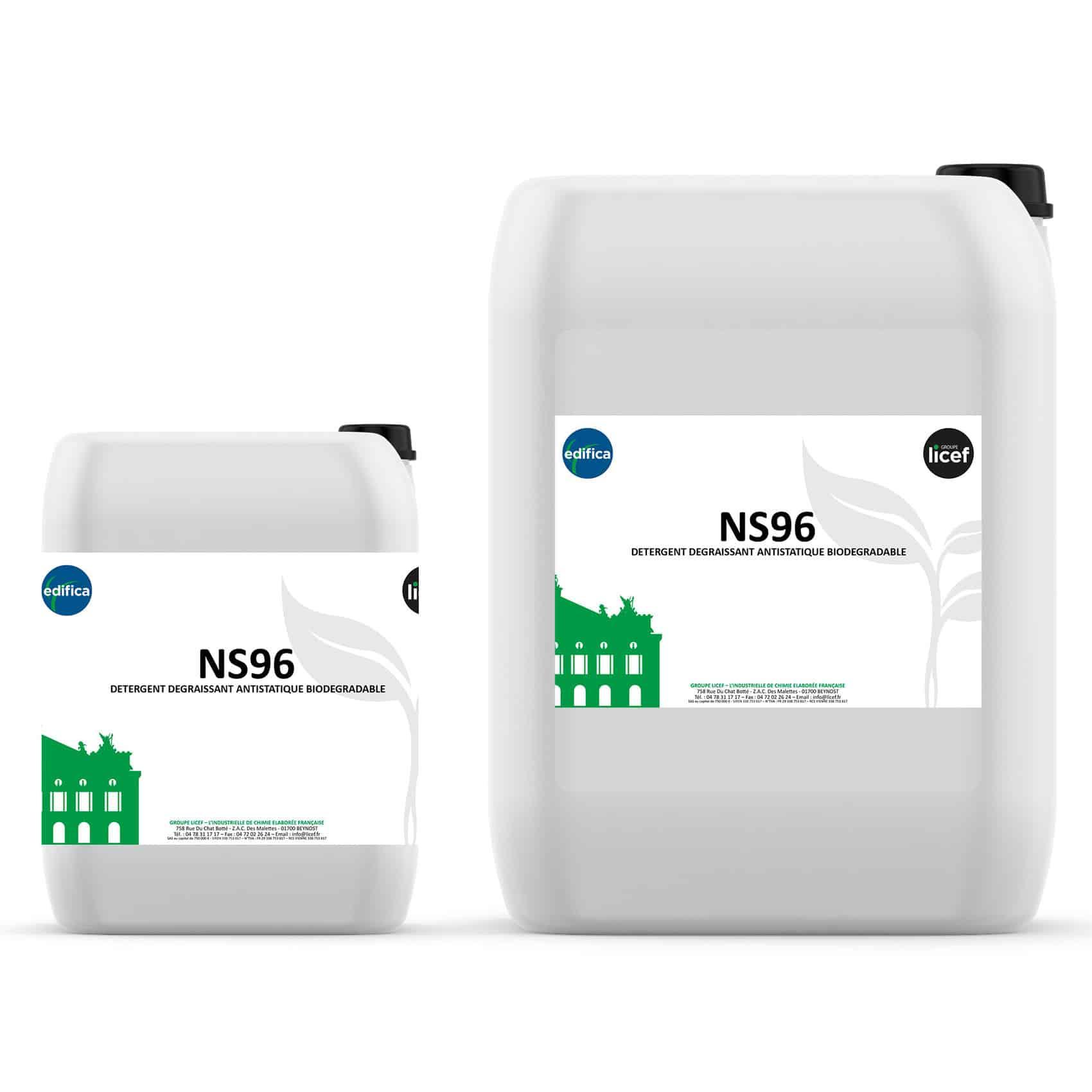 Produit Nettoyage Bardage Pvc ns96 - biodegradable - groupe licef