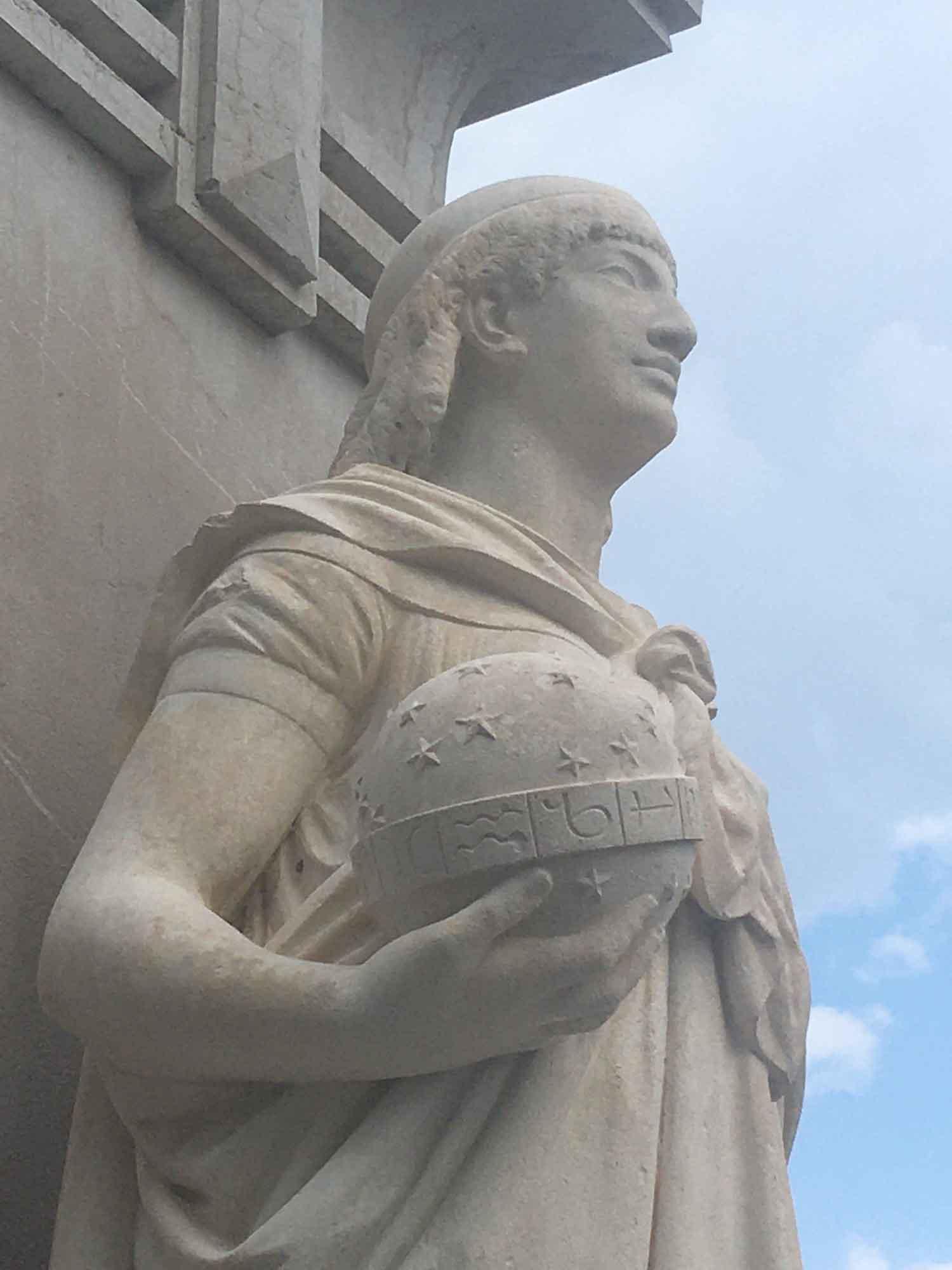 nettoyage statues